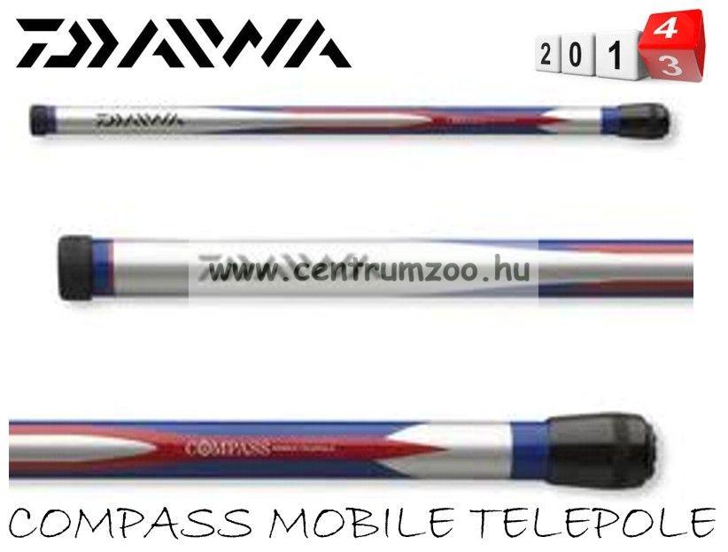 Daiwa Compass Mobile Telepole 5,00m spicc bot (11752-500)