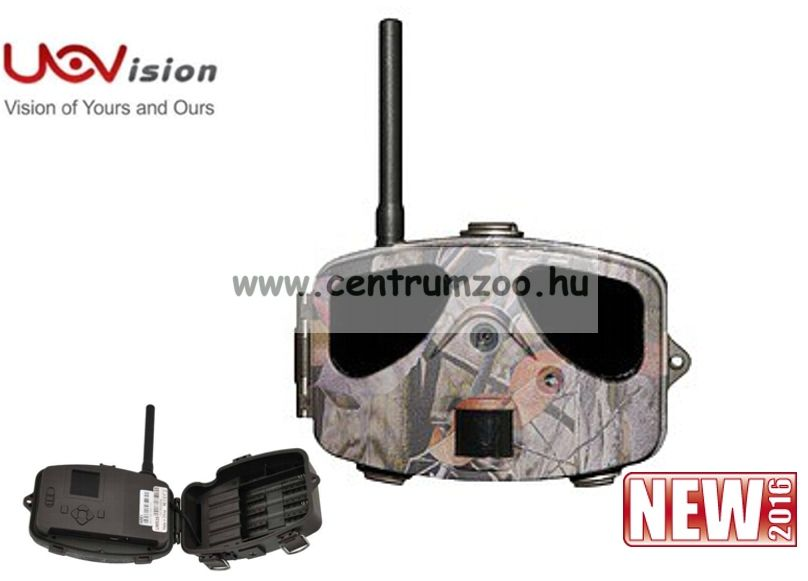 UOVision UM535 Panda GSM SMS éjjel-nappal vadkamera képküldő funkcióval