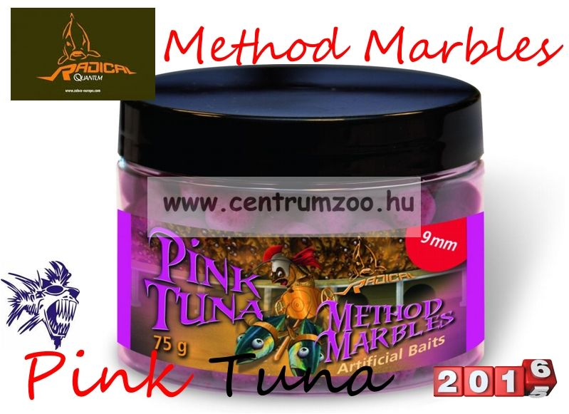 Radical Carp Method Marbles Pink Tuna 9mm 75g (3962105) süllyedő