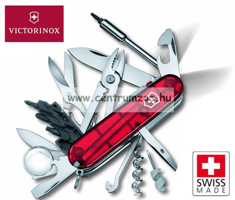 VICTORINOX @ Cyber tool lite világító funkciós zsebkés, svájci bicska 1.7925.T