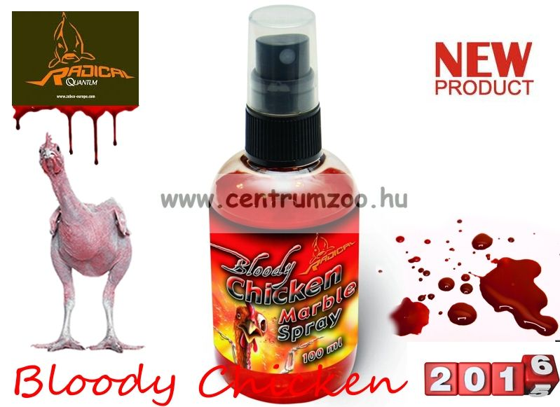 Radical Carp Marble Spray Bloody Chicken 100ml spray aroma (3949029)