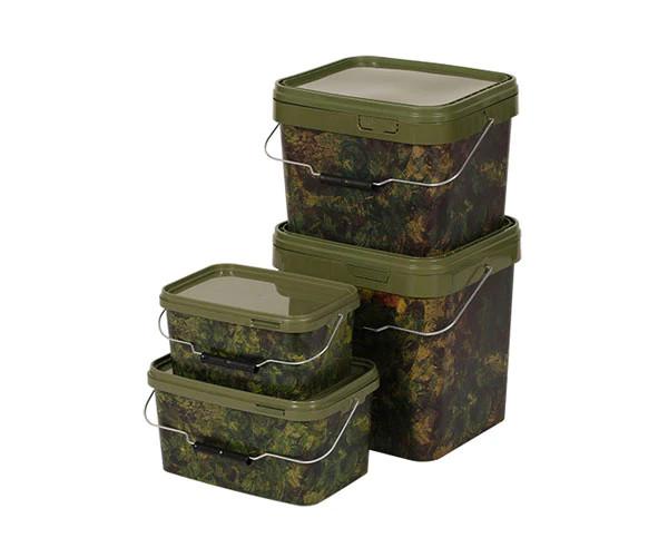 Gardner - Square Camo Bucket 17 Litre  (SBUC17) - terepmintás vödör