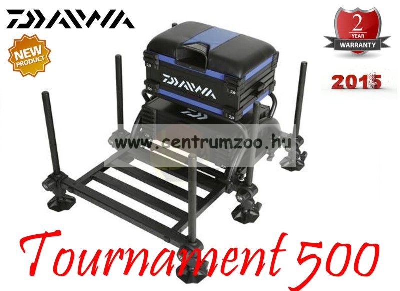 Daiwa Tournament ® 500 Seat Box  2015NEW versenyláda  (15811-500) (15811-501)