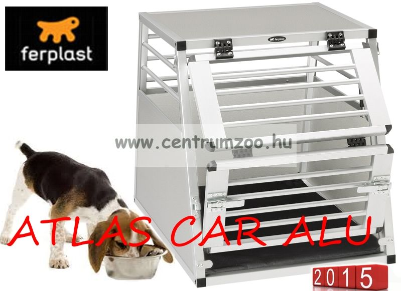 Ferplast Atlas Car Aluminium Small szállító box