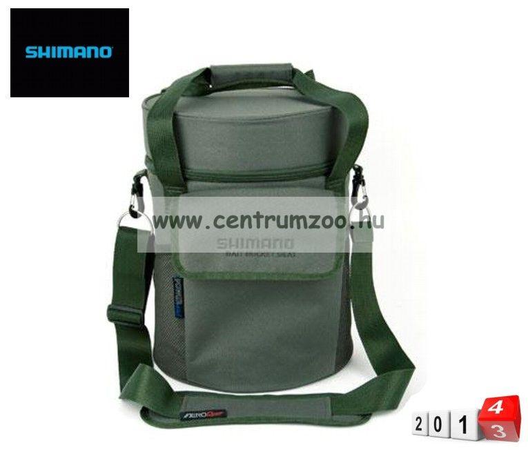 Shimano Carp Luggage Bait Bucket Seat etető anyagos horgásztáska (SHOL25 )