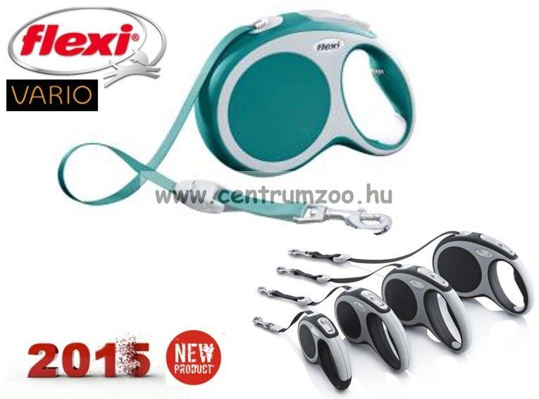Flexi Vario Tape 2015NEW XS BLUE SZALAGOS 3m 12kg automata póráz -KÉK