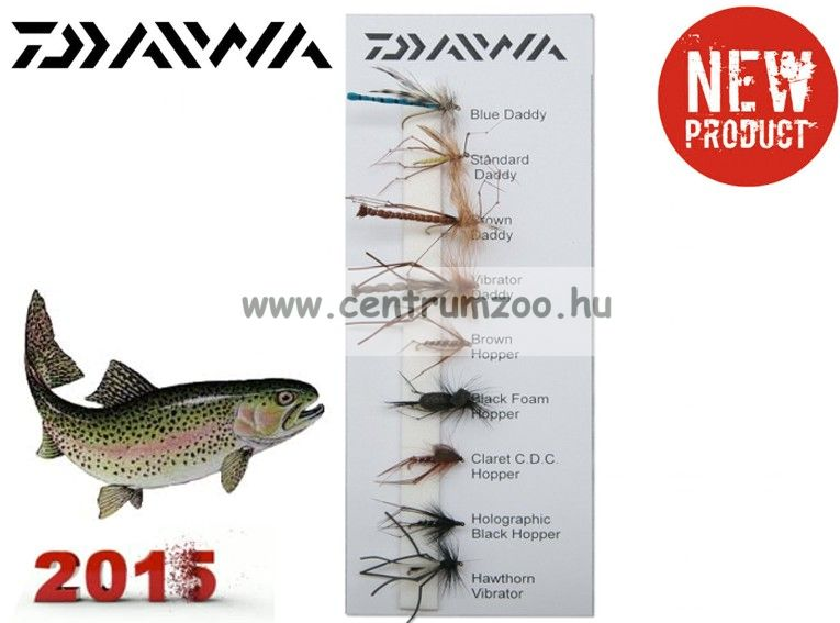 Daiwa Daddies & Hoppers  Flies Selection DFC13 műlégy szett 2015NEW Collection