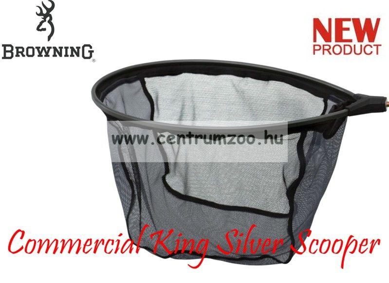 MERÍTŐFEJ  Browning Landing Net Commercial King Silver  Scooper 45x35cm (7029047)