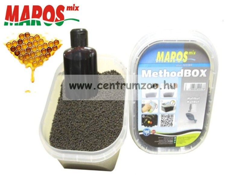Maros Mix Method Box 2in1 Honig pellet+locsoló - MÉZ (MAPE001)
