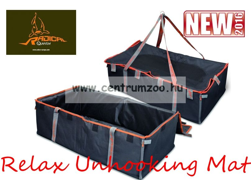 Radical Carp Quantum Relax Unhooking Mat black/orange 70x120cm (8517051)