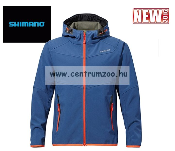 Shimano Stretch Layer Blue kék kabát XXL (JA040)
