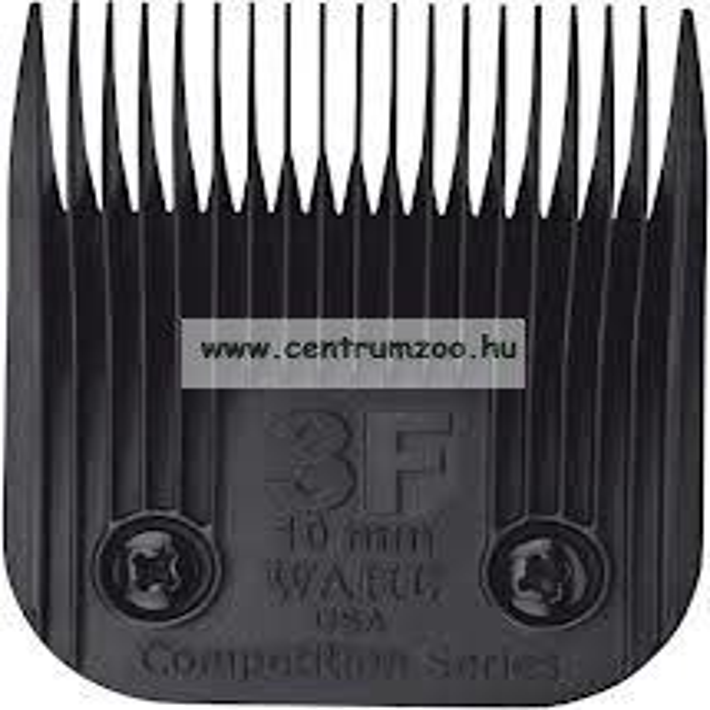 nyírófej ULTIMATE #3F / 10mm MOSER WAHL 1245 1250 (MAX45 MAX50) géphez - 1247-7680