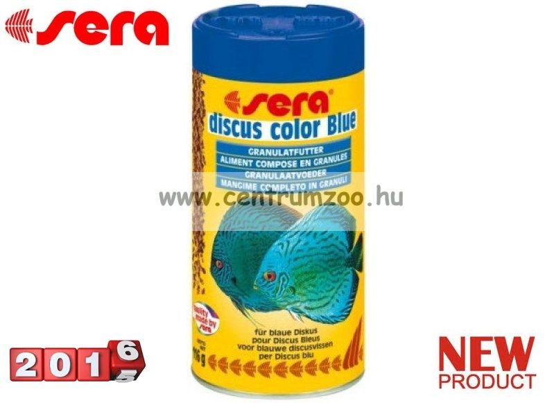 Sera Discus Color Blue Granulat 250ml díszhaltáp (0326)