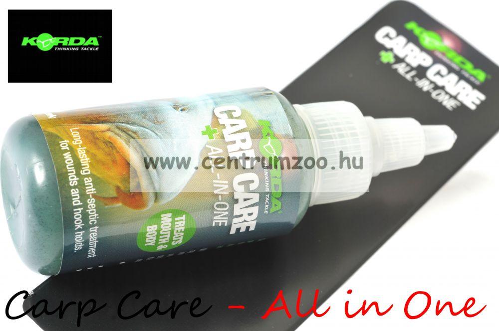KORDA Carp Care Medic Plus - All in One - sebfertőtlenítő zselé (KCC)