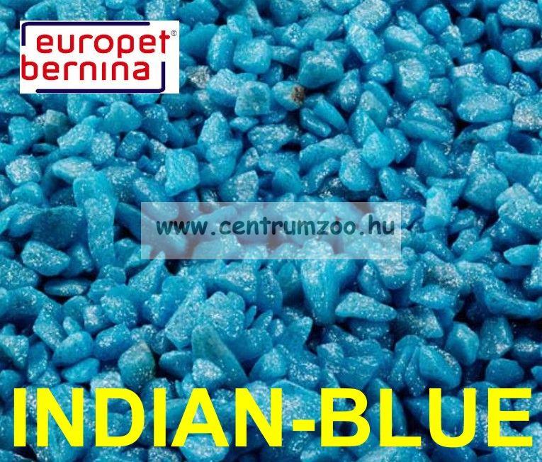 EUROPET BERNINA Aqua D'ella Glamour Stone 6/9mm 2kg INDIAN-BLUE akváriumi kavics aljzat (257-420522)