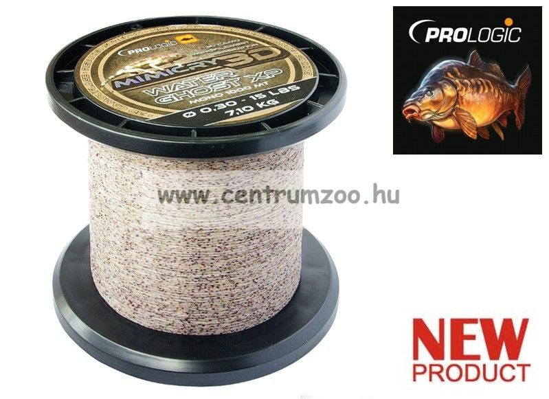PROLOGIC Mimicry Water Ghost XP 1000m 15lbs 7.1kg 0.30mm Camo zsinór (48443)