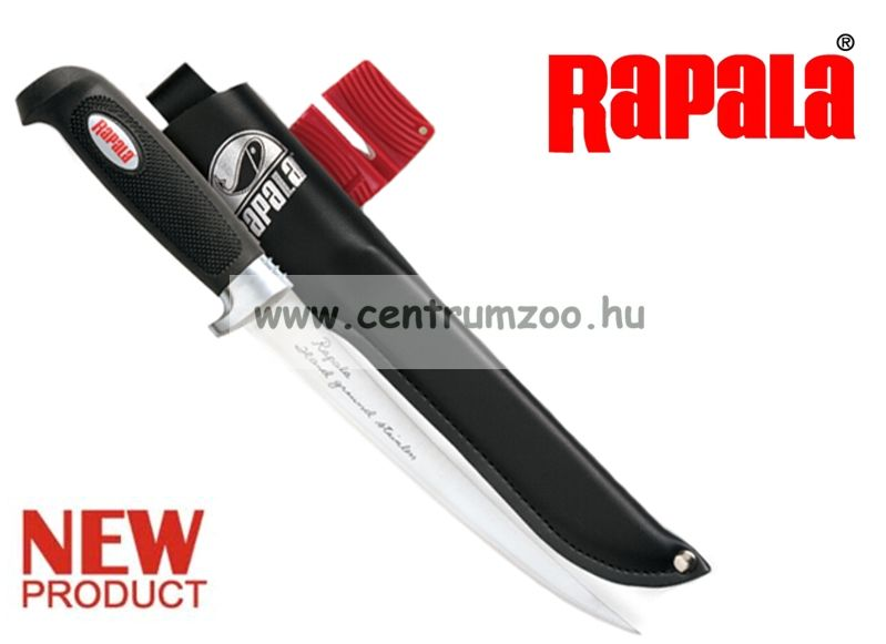Rapala Single Stage Soft Grip Fillet 2in1 KÉS+ÉLEZŐ szett (BP707SH1)