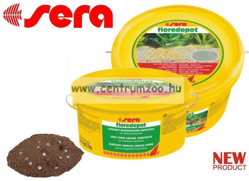 Sera Floredepot 2,4 kg növény táptalaj 60 literhez  (3375)