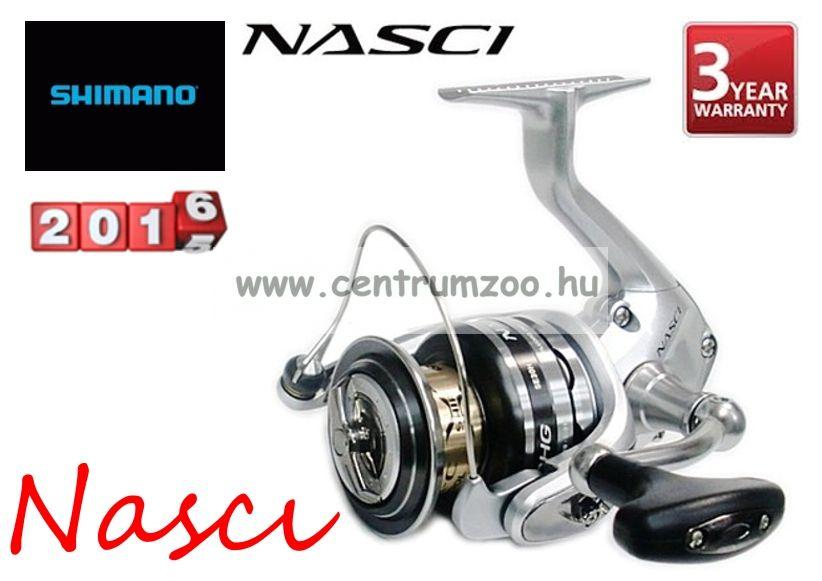 Shimano NASCI C3000HG elsőfékes orsó (NASC3000GR)