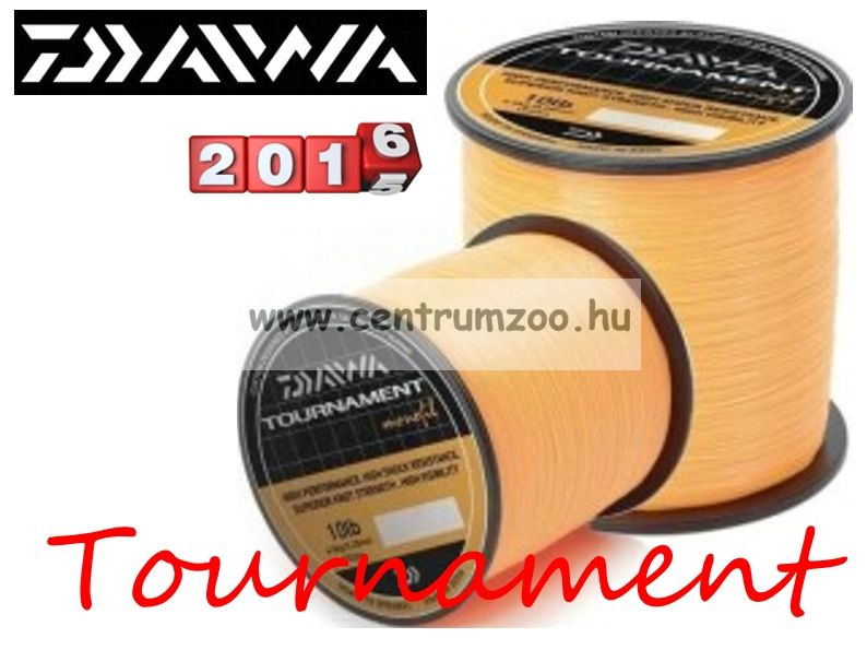 Daiwa Tournament Fluoror Orange 18lb 0,40mm 755m prémium zsinór (TFMO180)