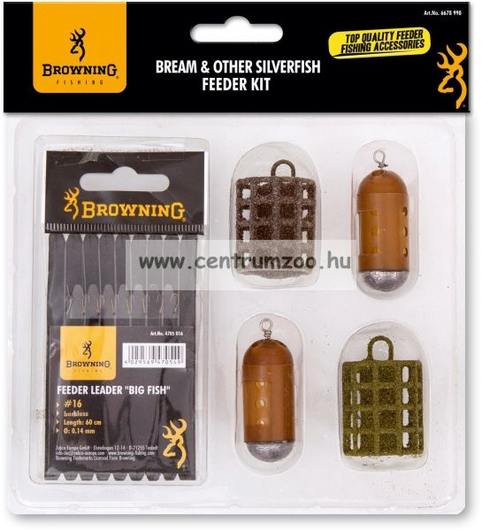 Browning Bream & Other Silverfish - Full Kit kosár szett  (6678998)