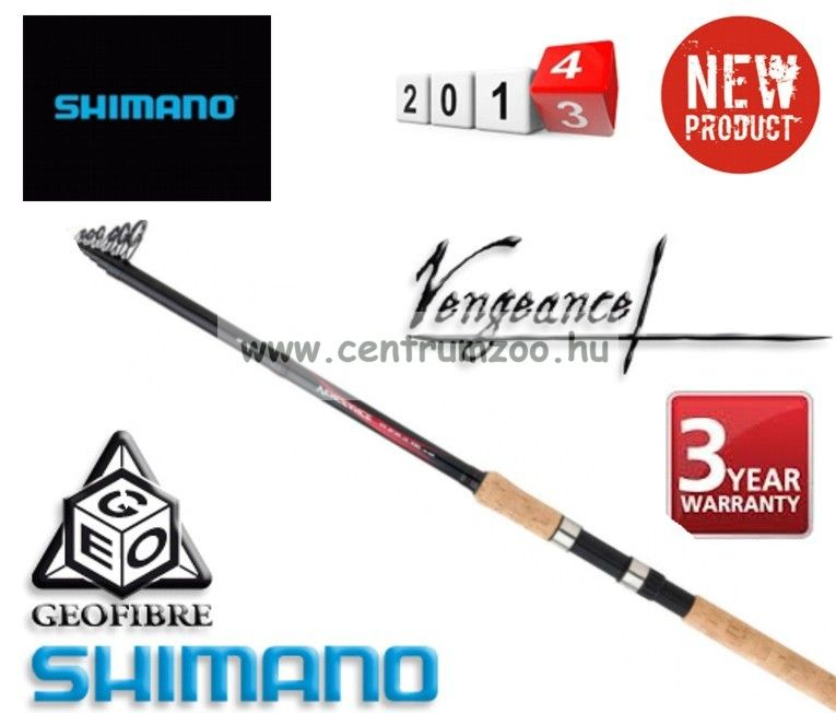 Shimano bot VENGEANCE AX SLIM TE 300 40-80 (VAXSLTE304080)