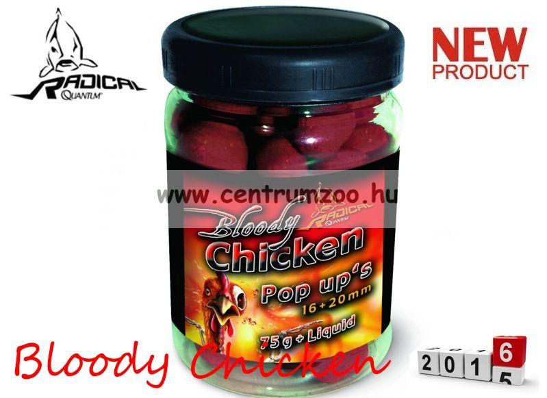 Radical Carp Bloody Chicken Pop Up's 16+20mm 75g (3943008)