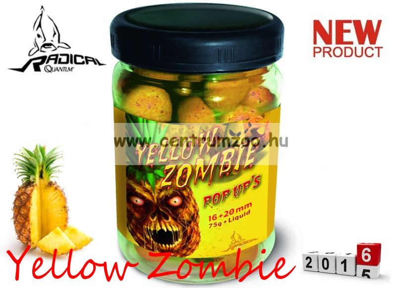 Radical Carp Yellow Zombie Pop Up's  16+20mm 75g (3943010)