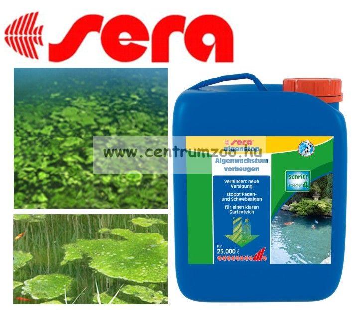Sera Pond Algenstop - 5liter - 50 m3-hez algák ellen - gazdaságos kiszerelés (7694)