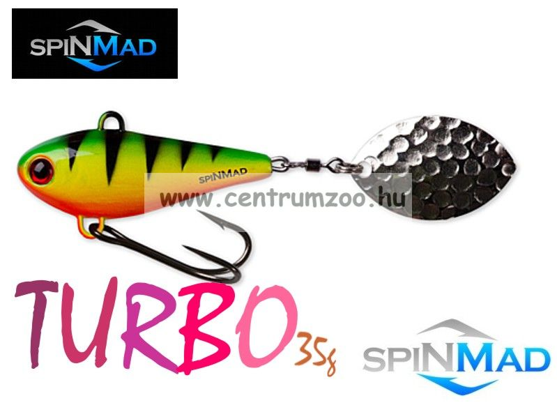 SpinMad Tail Spinner gyilkos wobbler TURBO 35g 1007