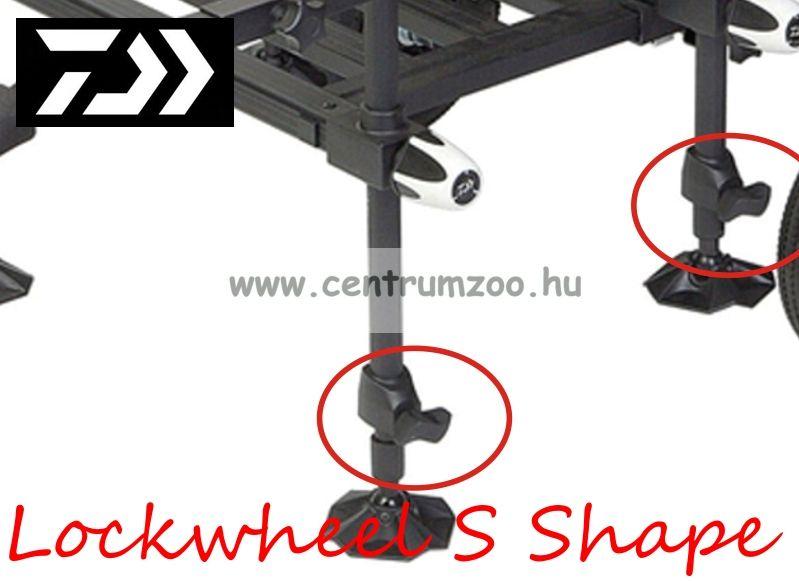Daiwa Lockwheel S Shape TN400/D75/15/300/302 versenyláda lábcsavar (P2105-005)