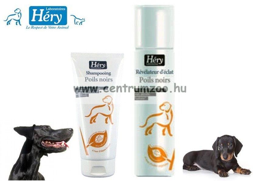 Héry sampon Poils Noirs fekete színű szőrre 1l (105348)