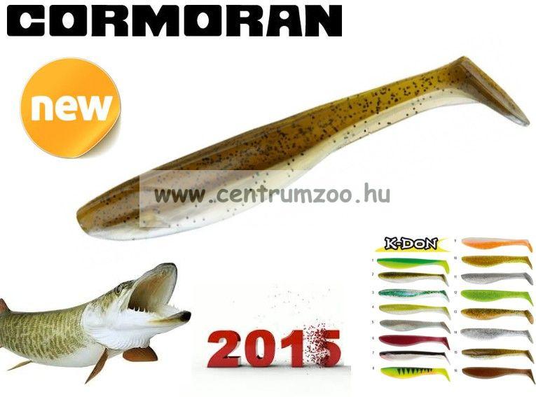 Cormoran K-Don S9 prémium gumihal 13cm GREEN-AYU  (51-28315)