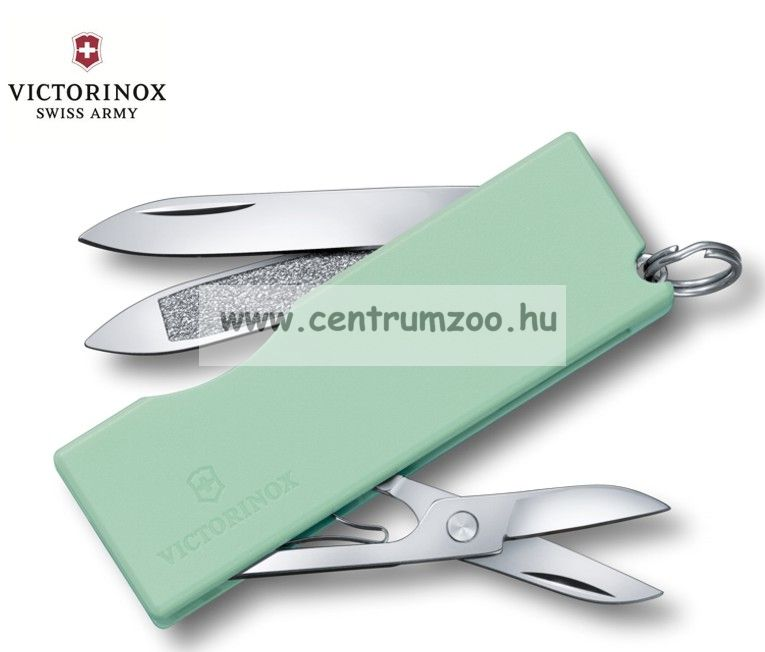 Victorinox SWISS ARMY PENKNIFE TOMO  MENTHGREEN zsebkés, svájci bicska  0.6201.A47