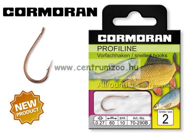 Cormoran PROFILINE Általános horog 290B ELŐKÖTÖTT 10db/cs (70-290B)