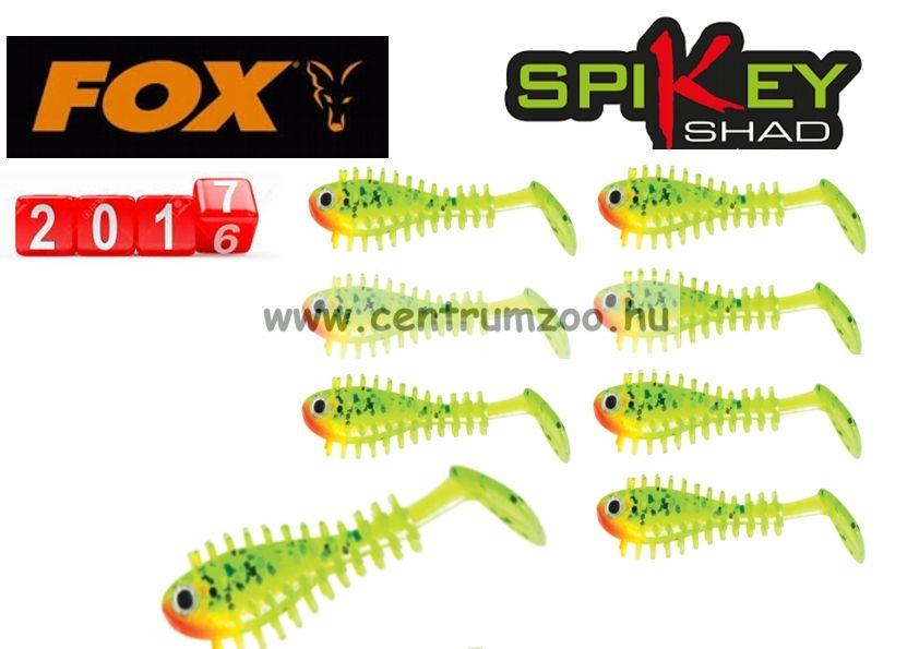 Fox Rage Micro Spikey Shad Lemon Tiger 4cm Micro prémium gumihal 8db (NSL836)