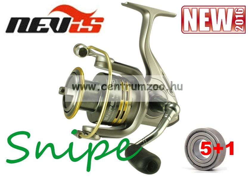 Nevis Snipe 35 5+1cs (2227-635) elsőfékes orsó