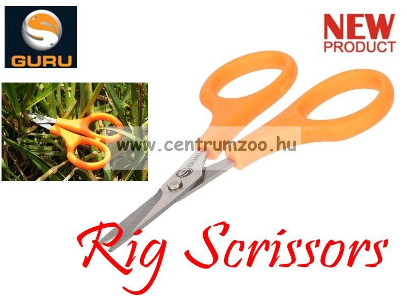 GURU Rig Scissors Premium olló - fonott zsinórokhoz is (GRS)