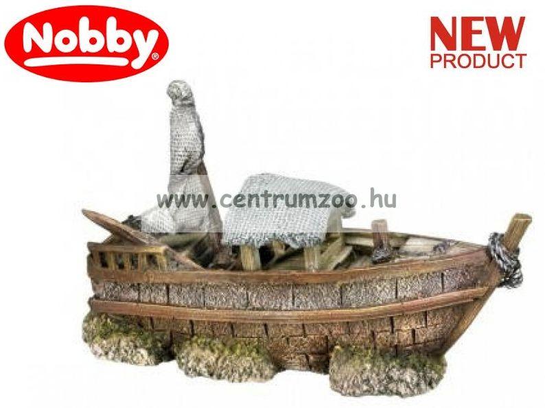 Nobby akvárium dekorációs elsüllyedt hajó 22x13x8cm (28441)