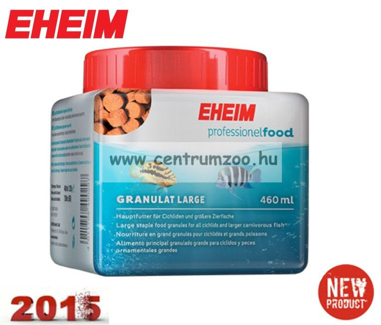 "Eheim Large staple food granules for all cichlids and larger carnivorous fish sügéreknek és nagytestű díszhalaknak ""L"" 965ml (4912110)"