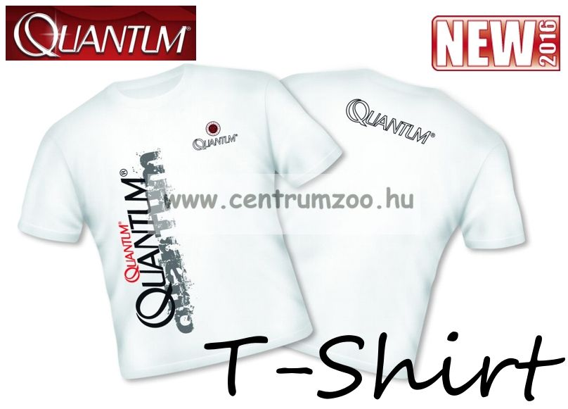 Quantum Fishing T-Shirt White póló XL  (8935003)
