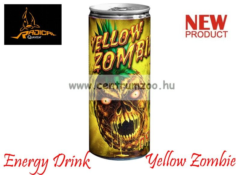 Quantum Radical Energy Drink Yellow Zombie energia ital (9900002)