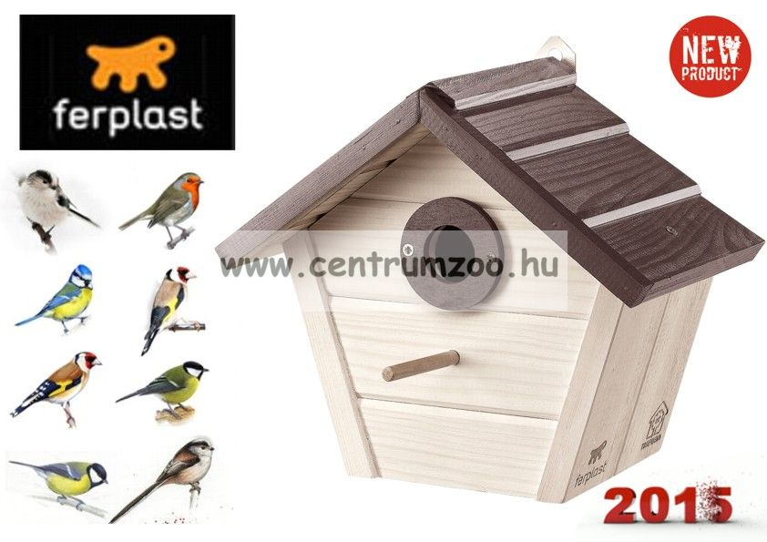 Ferplast Natura Outside Nest madárodú kertbe N4 WHITE