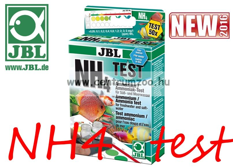 JBL NH4 Test-Set (JBL25390) ammónium teszt