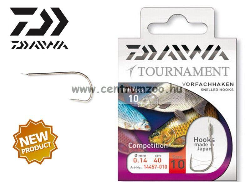 Daiwa Tournament MATCH Snelled Hooks előkötött horog - MATCH (1457) (14457-0 )