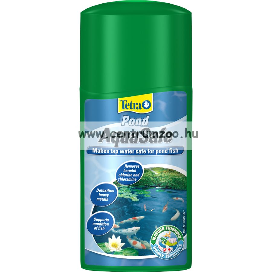 Tetra Pond AquaSafe vízkezelő 500ml, 10m3 tóhoz