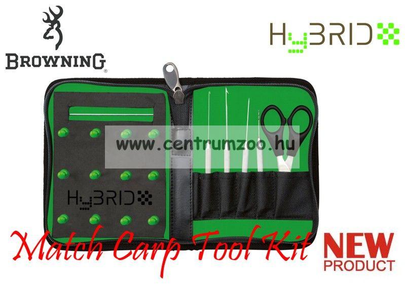 Browning Hybrid Mini Match Carp Tool Kit fűzőtű, előke tartó szett (6603005)