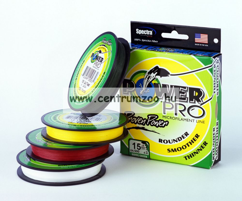 Power Pro zsinór  135m 0,56mm 75kg / zöld