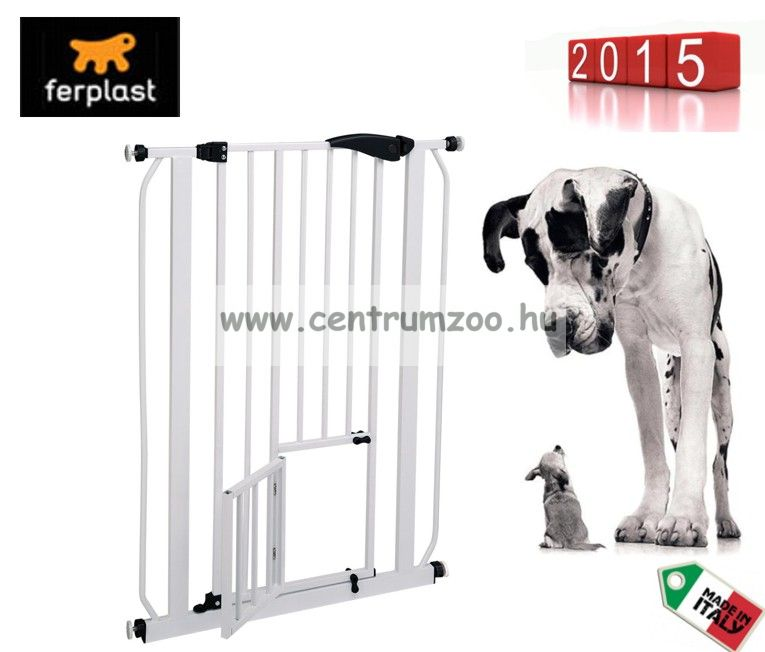 Ferplast Pet Gate & Barrier ajtórács 73 x h 105 cm