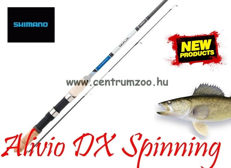 Shimano bot Alivio DX Spinning 210 MEDIUM LIGHT (SALDX21ML)